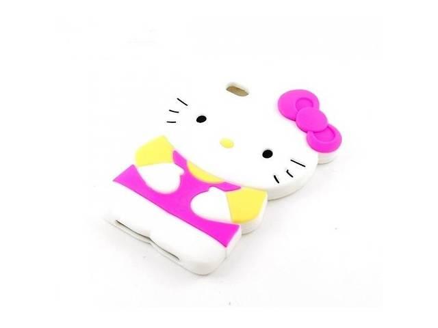 продам Силиконовый чехол Remax Hello Kitty розовый для iPod Touch 4 (hub_45687) бу в Києві