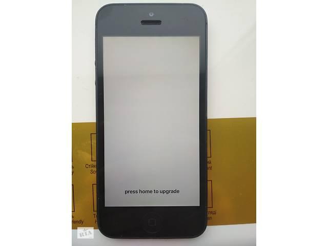 продам Apple iPhone 5 16Gb Gray оригінал з США iCloud lock айфон 5 бу в Львове