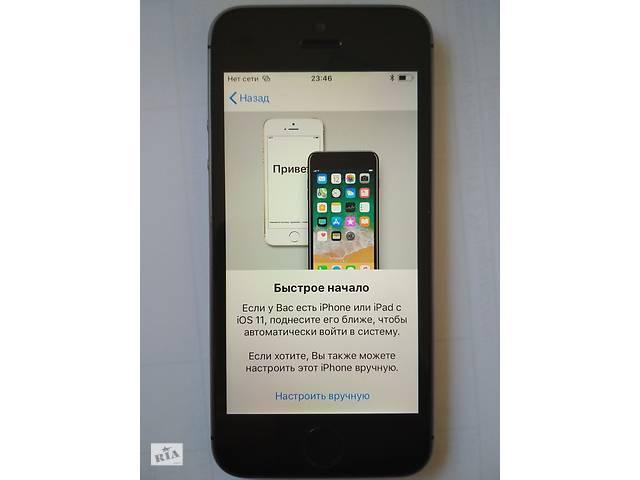 бу Apple iPhone 5S 16Gb Gray ідеал оригінал з США iCLoud loc (донор) в Львове