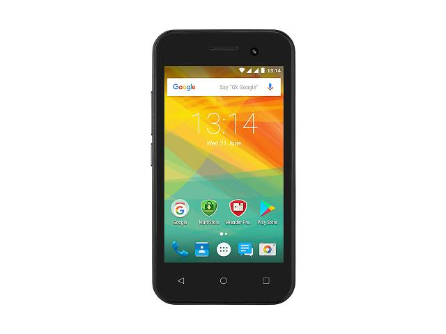 Мобільний телефон PRESTIGIO MultiPhone 3423 Wize R3 DUO Black (PSP3423DUOBLACK) 2 SIM, TFT, 4.0', 80
