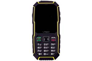 Мобильный телефон Sigma mobile X-treme ST68 Black-Yellow