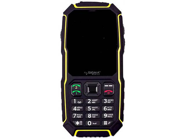 Мобильный телефон Sigma mobile X-treme ST68 Black-Yellow- объявление о продаже  в Харкові