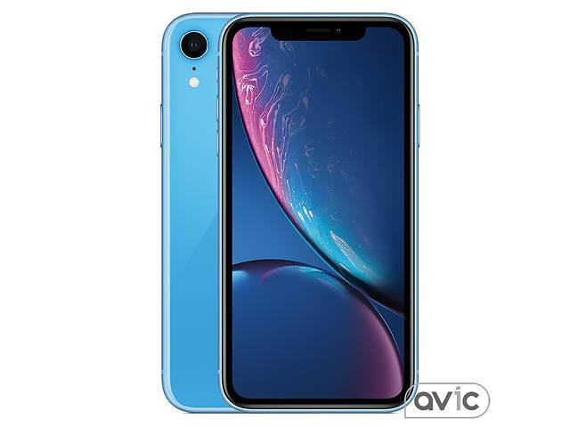 бу Смартфон Apple iPhone XR Dual Sim 256GB Blue (MT1Q2) в Харькове