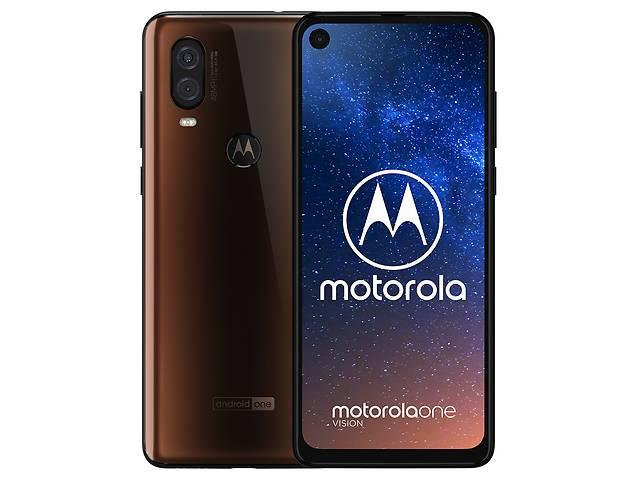 продам Смартфон Motorola One Vision 4/128GB Bronze бу в Харькове