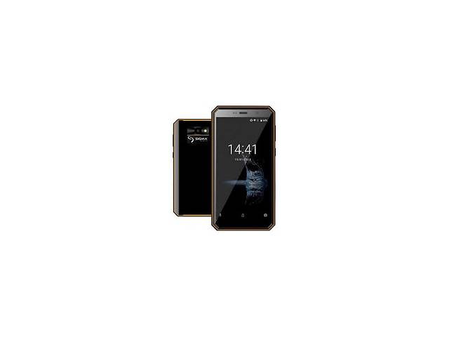 купить бу Смартфон Sigma mobile X-treme PQ52 (Black/Orange) в Харькове