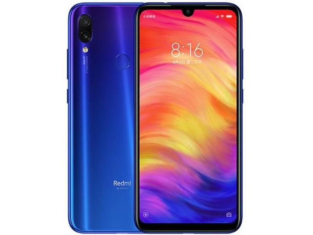бу Смартфон Xiaomi Redmi Note 7 3/32GB Dual Sim EU Neptune Blue в Харькове