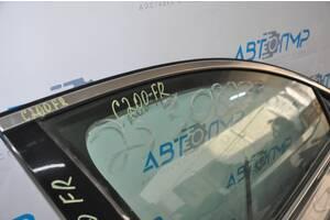 Молдинг двери верхний перед прав Chrysler 200 15-17 хром