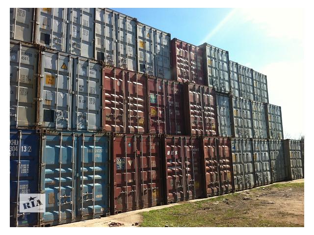 продам Морський контейнер, 40 футів, допоможу з завантаженям та доставкою. Знаходиться в м. Рівне бу в Ровно