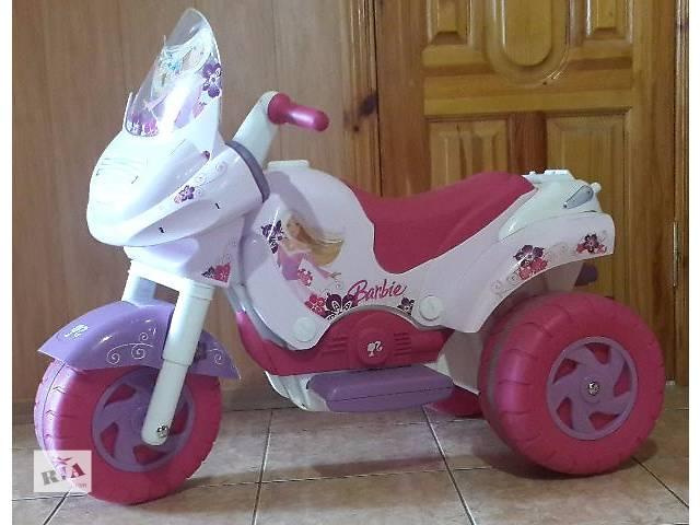продам Мотоцикл Peg-Perego Barbie для девочки бу в Украинке (Киевской обл.)