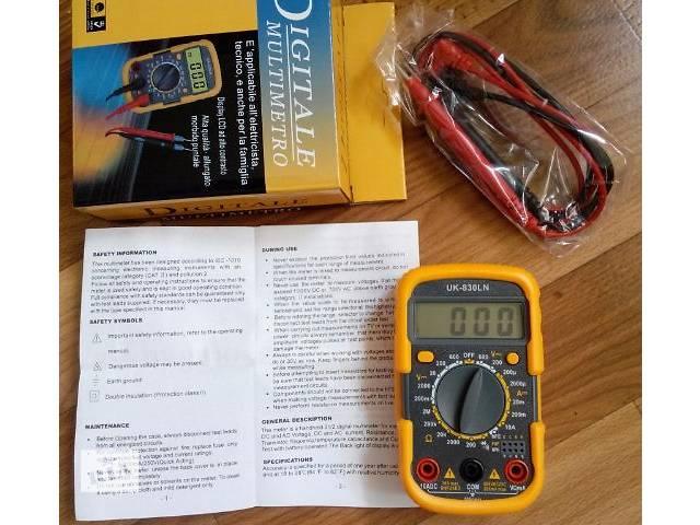 купить бу Мультиметр (тестер) UK-830LN продам в Харькове