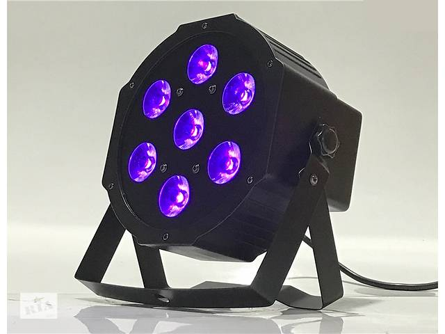 бу 7x18 RGBWA+UV Led par Ультрафиолетовый Светодиодный Ультрафиолет УФ Прожектор Светомузыка Цветомузыка в Каменском (Днепродзержинск)