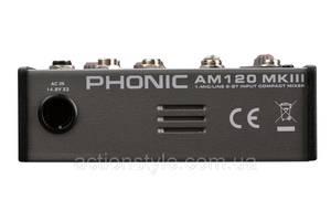 Новые Микшерные пульты для студии Phonic