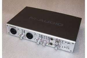 б/у Аудио карты для студии M-Audio