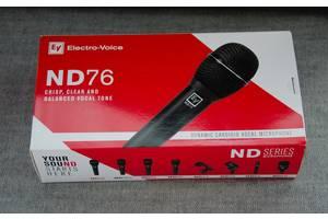 Новые Вокальные микрофоны Electro-Voice