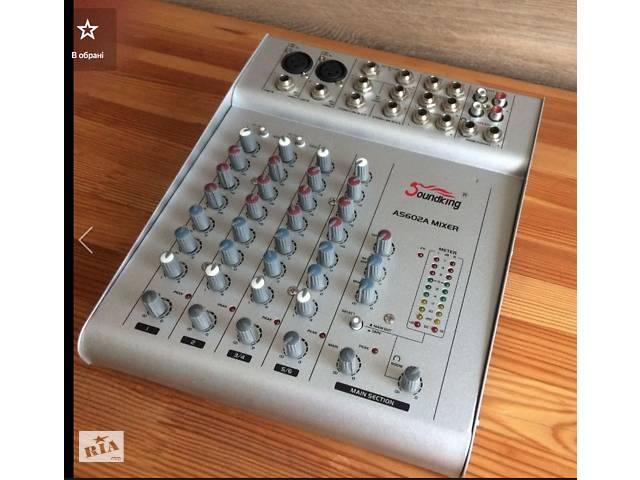 Пульт мікшерний  Soundking AS602A- объявление о продаже  в Луцке
