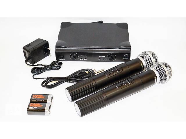 купить бу Радиосистема Shure UT4 UHF-2 Sm58 2 радиомикрофон в Киеве