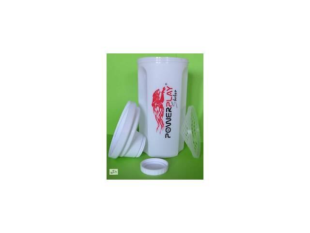 бу Шейкер PowerPlay 700 мл Білий SKL24-143670 в Одессе