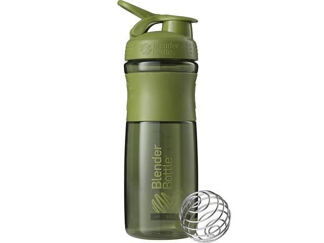 бу Бутылка-шейкер спортивная BlenderBottle SportMixer 820ml Moss Green SKL24-144849 в Одессе