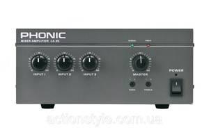 Новые Усилители мощности для музыкальных инструментов Phonic