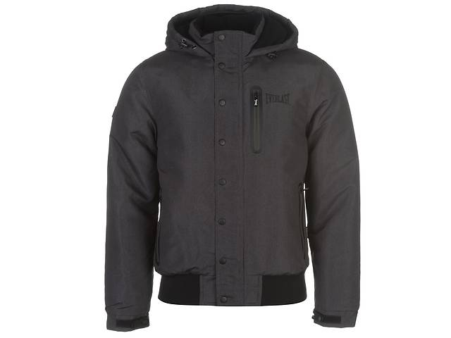 продам Куртка Everlast Hooded Bomber Jacket Mens M Темно-серая (606191-R) бу в Киеве