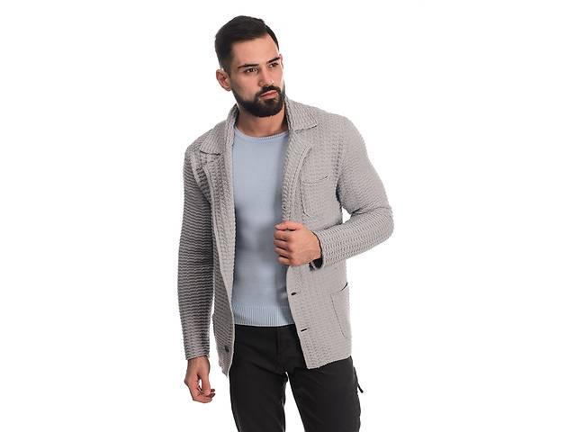 Трикотажный пиджак SVTR 52 Светло-серый (389)- объявление о продаже  в Києві