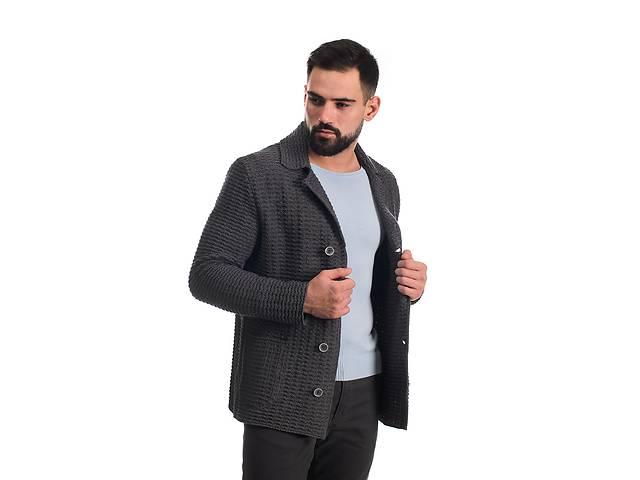 продам Трикотажний піджак SVTR 48 Темно-сірий (389) бу в Києві