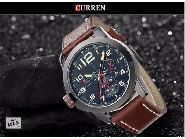 Мужские часы Curren Black №1  В наличии!- объявление о продаже  в Нежине