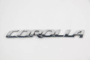 Надпись крышки багажника 2 Toyota Corolla E15 2007-2013 7544212A90 (46892)