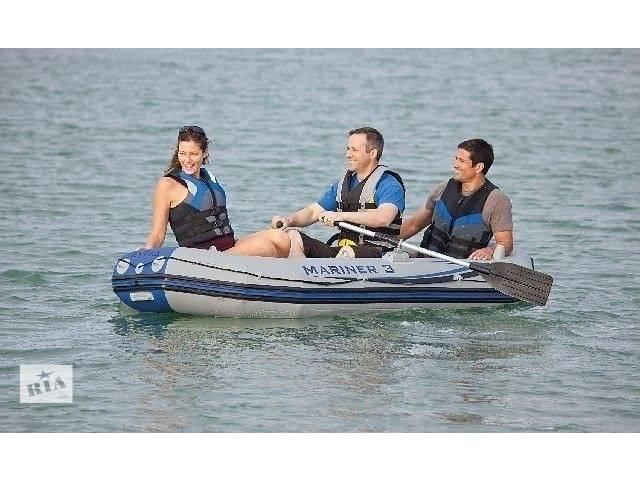 продам Надувная лодка понтон 3-х местная Intex 68373 Mariner 3 + алюминиевые вёсла и насос бу в Тернополе
