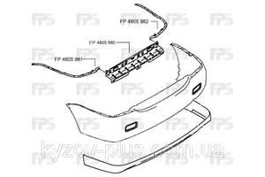 Направляющая заднего бампера Mitsubishi Lancer 9 04-09 правая (FPS) Fps FP 4805 982