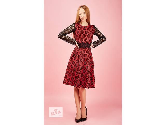 продам Нарядное платье с цветами бу в Хмельницком