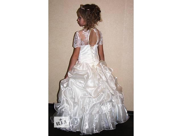 купить бу Нарядні дитячі сукні на прокат Київ Троєщина. Пишні красиві 48cb77e68c3f1