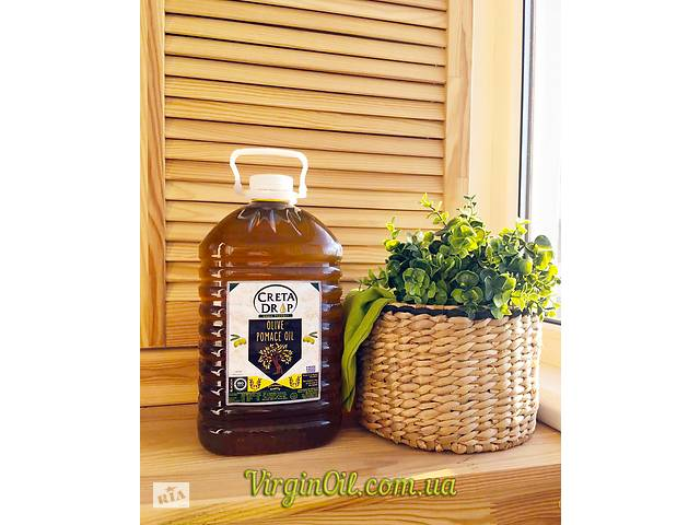 купить бу Настоящее рафинированное оливковое масло POMACE 5 л. (ГРЕЦИЯ) в Одессе