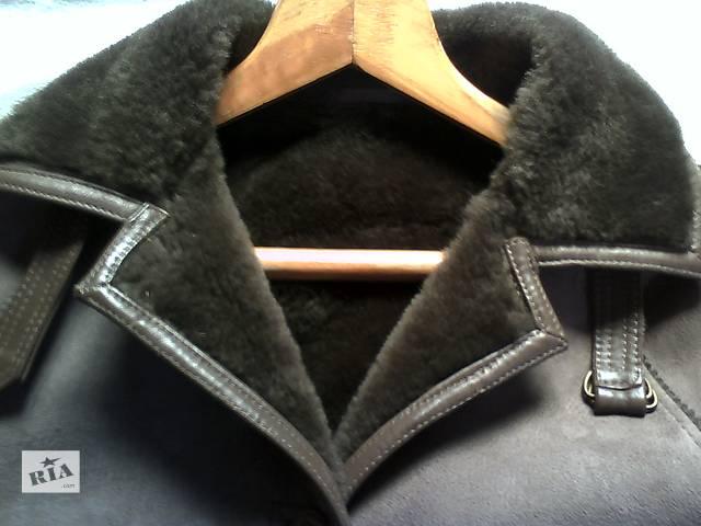 продам Дубленка из натуральной овчины Strong and Fisher Ltd Англия 46р бу в Львове