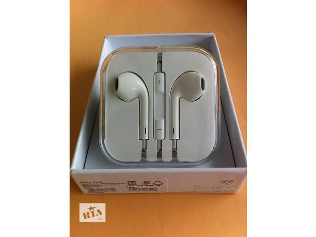 продам Наушники Apple Earpods iphone 4 5 5s 6 гарнитура айфон наушники earpods бу в Днепре (Днепропетровск)