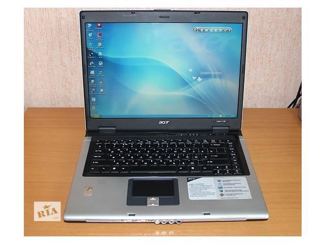 купить бу Недорогой  ноутбук Acer Aspire 5100 (2 ядра 2Гига) в Киеве