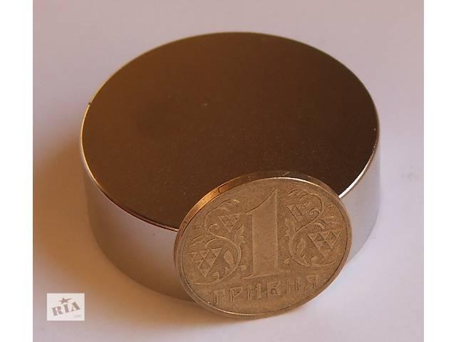 продам Неодимовый магнит магніт 70х50 Сцепление ― 250 кг. N42 Польша  бу в Черкассах