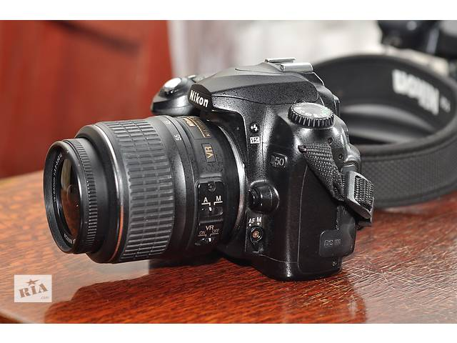 Nikon D50 + объектив 18-55- объявление о продаже  в Ровно