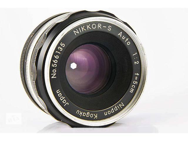 Nikon Nippon Kogaku Japan Nikkor-S Auto 50мм-2,0.Коллекционный.- объявление о продаже  в Боровой (Харьковской обл.)