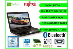 б/в Ноути для роботи та навчання Fujitsu Fujutsu Lifebook A530