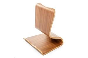 Подставка под планшет двухсторонняя деревянная орех