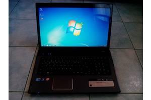 б/в Ноутбуки мультимедійні центри Acer Acer Aspire 7741