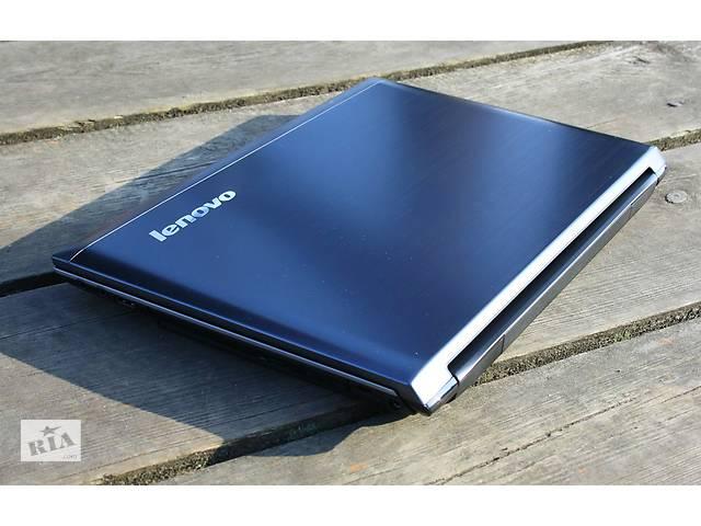 Игровой 4х ядерный ноутбук Lenovo   2х Видеокарты   Сканер отпечатков