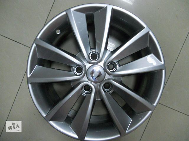 продам Цена за диск. Новые R16 5x114.3  Оригинальные литые диски Renault Laguna, Duster, Megane фирменные, производство И бу в Харкові