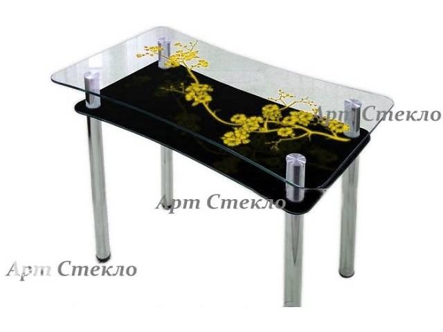 Новые обеденные столы из стекла- объявление о продаже  в Дружковке