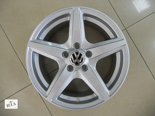 купить бу Новые R15 5X100 литые диски на Volkswagen Polo Оригинальные в Харькове