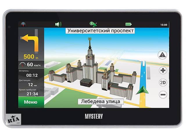продам Новый GPS навигатор Mystery MNS-440MP NY бу в Житомире