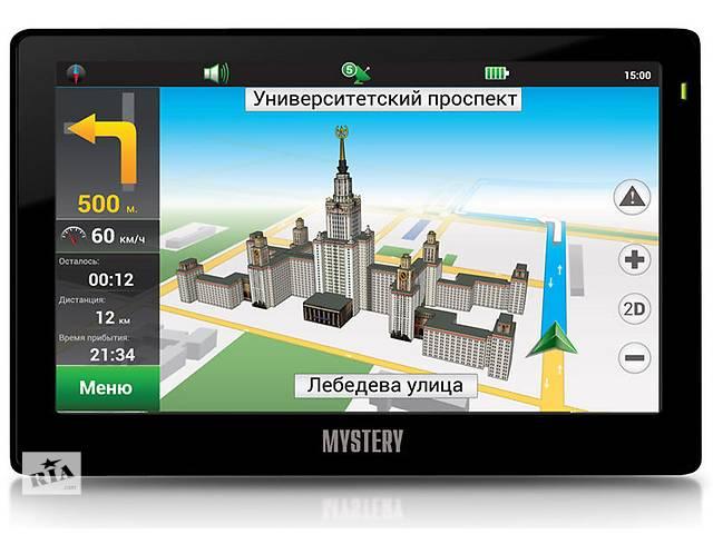 продам Новый GPS навигатор Mystery MNS-710MP NV бу в Житомире
