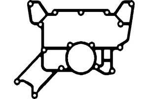 Новый прокладка корп. радиатора масла теплообменника mb actros om501/2 om541/2  elring 052351