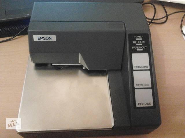 купить бу Новый принтер EPSON TM-U295/U295P для грузовика в Одессе